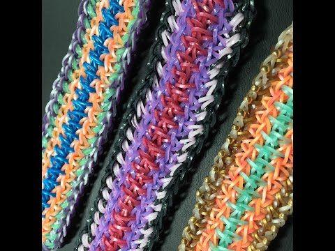 Tartaruga Rainbow Loom Bracelet - YouTube