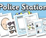 police station dramatic play area