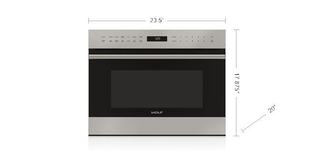 """24"""" E SERIES TRANSITIONAL DROP-DOWN DOOR MICROWAVE OVEN MDD24TE/S/TH"""