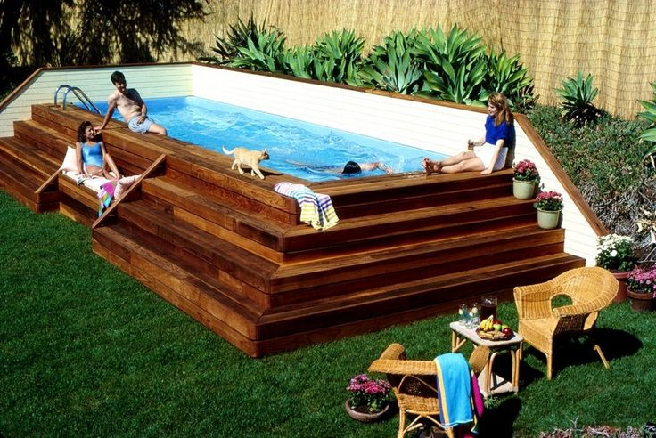 616 best lap pools images on pinterest lap pools for Best above ground pools australia