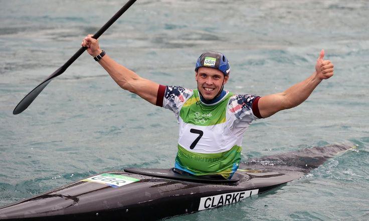 Rio 2016: Team GB's Joe Clarke Wins Men's Canoe Slalom Gold: (1225×735)
