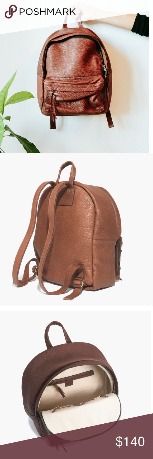M a d e w e l l • Backpack Excellent Condition  • Gorgeous Pebbled Leather Madewell Bags Backpacks