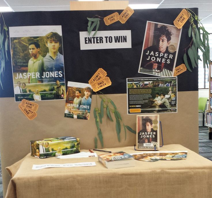 Jasper Jones Competition Queanbeyan Library Display