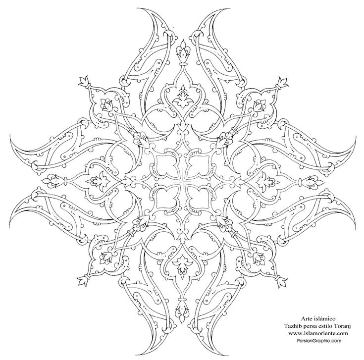 coloring pages islamic patterns meaning - photo#36