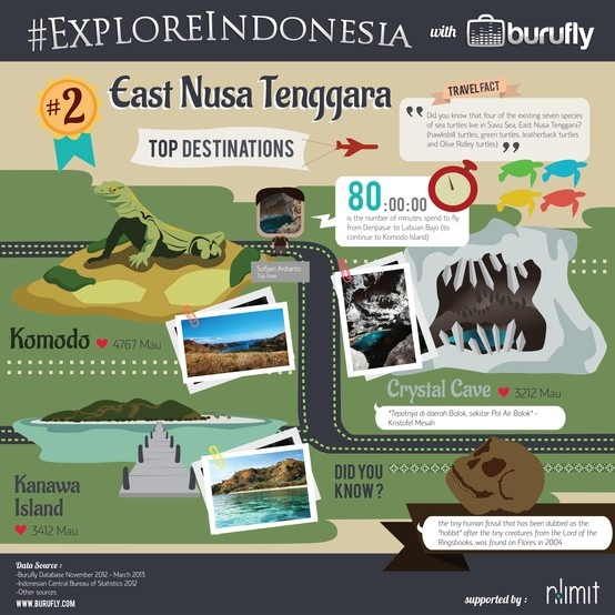 Interesting facts of East Nusa Tenggara from www.burufly.com