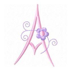 Free Embroidery Machine Design Monogram 74-A | Gosia Design