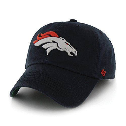 NFL Denver Broncos '47 Brand Franchise Fitted Hat, Navy