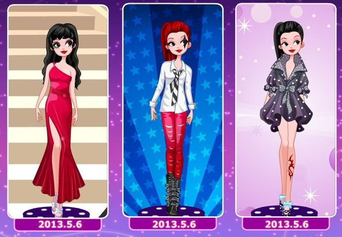 Another set of three looks, this time designed by Freya :) Choose your fave!!