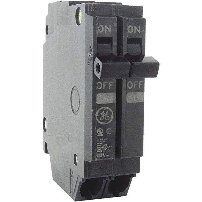 General Electric Thqp215 Circuit Breaker 2 Pole 15 Amp Thin Series Review General Electric Breakers Electrical Projects