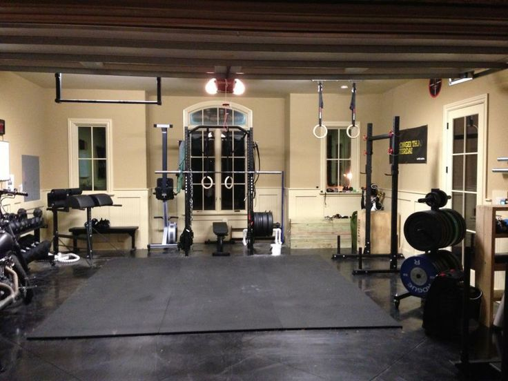 110 best images about man cave gyms on pinterest exercise rooms home gyms and hockey puck - Images of home gyms ...