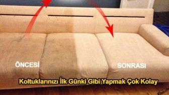 Amonyak İle Evde Koltuklarınızı Temizleme Yöntemi