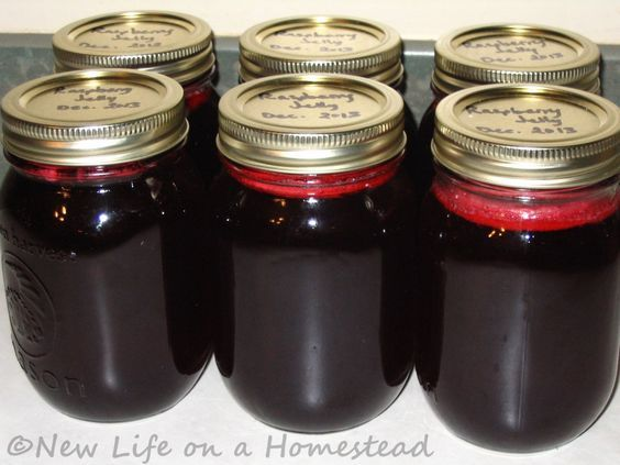 How To Make Seedless Raspberry Jelly