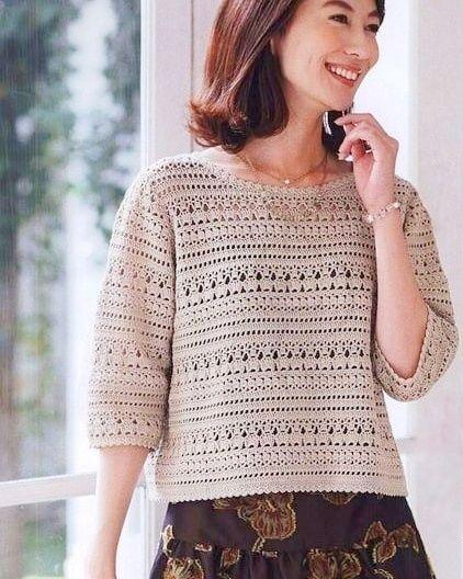 Пин на доске Crochê Roupas - Crochet fashion