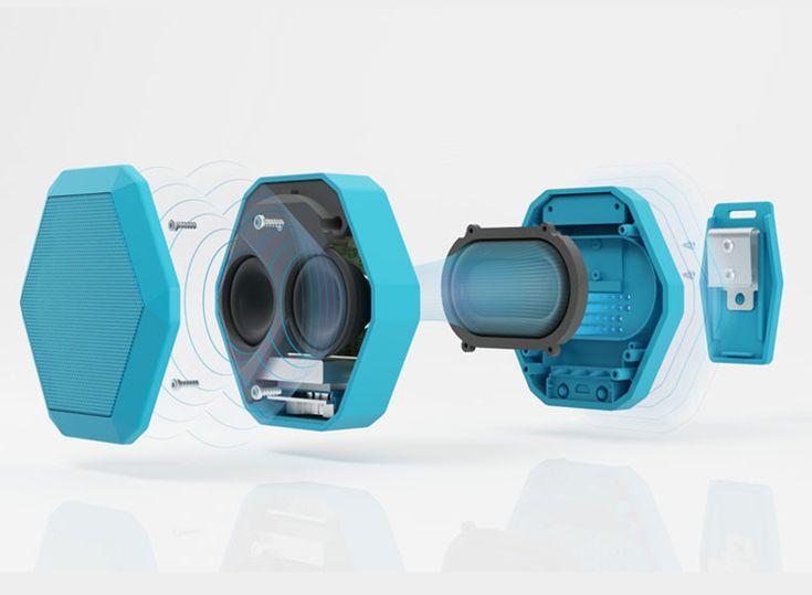 Boombot REX ultraportable SIRI-enabled speaker