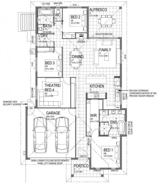 189 best House Plans images on Pinterest | Floor plans, House ...