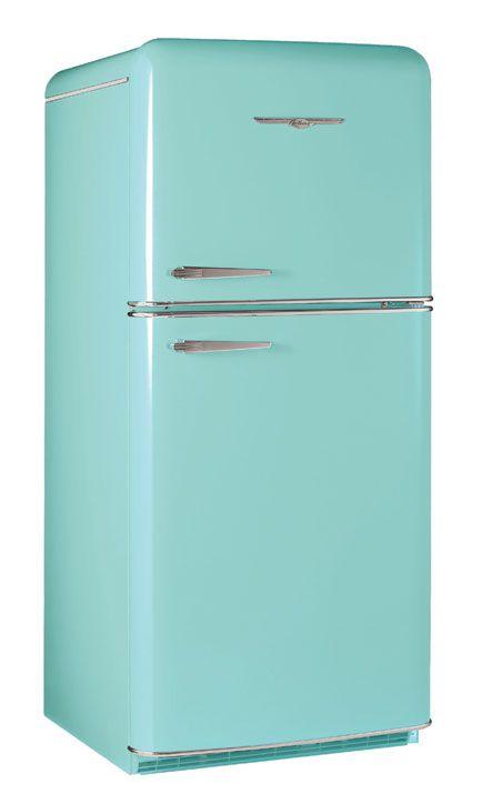 1952 Robin's Egg Blue Northstar RefrigeratorVintage Stoves, Dreams Kitchens, Mint Green, Retro Fridge, Colors, Bonus Room, Vintage Refrig, Robin Eggs Blue, Vintage Kitchen