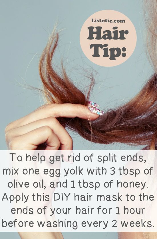 20 Of The Best Hair Tips and Tricks: #19 Put An End To Split Ends