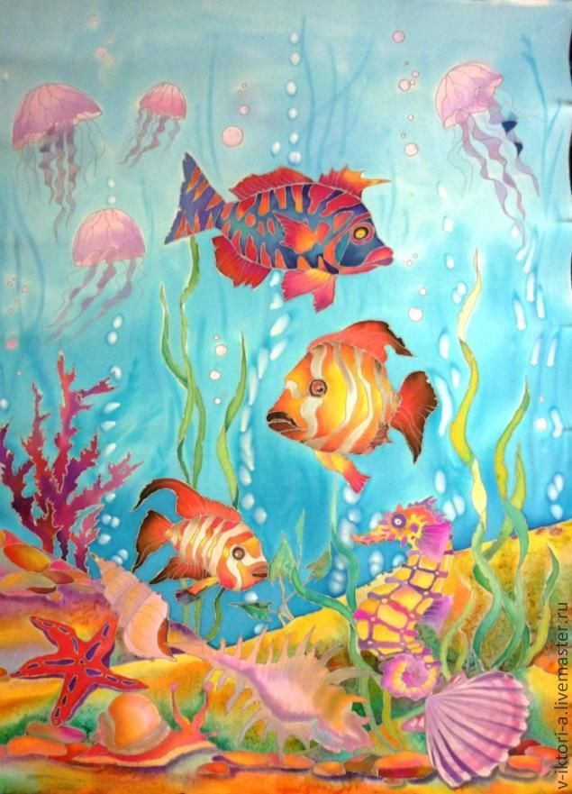Pin by on pinterest for Watercolor fish painting