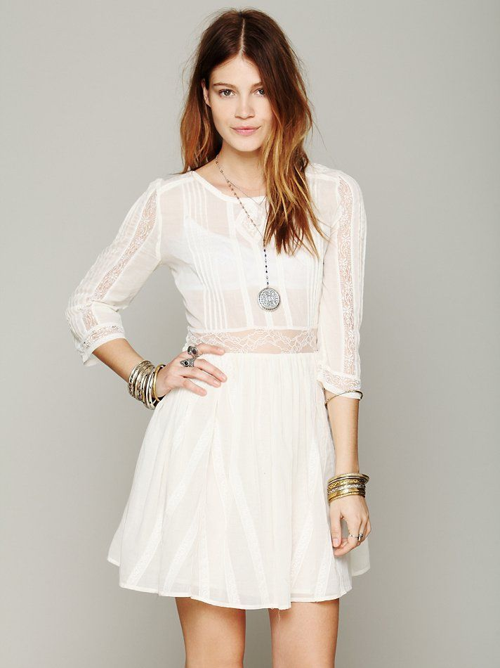 Free People Pere Fit N Flare Dress at Free People Clothing Boutique