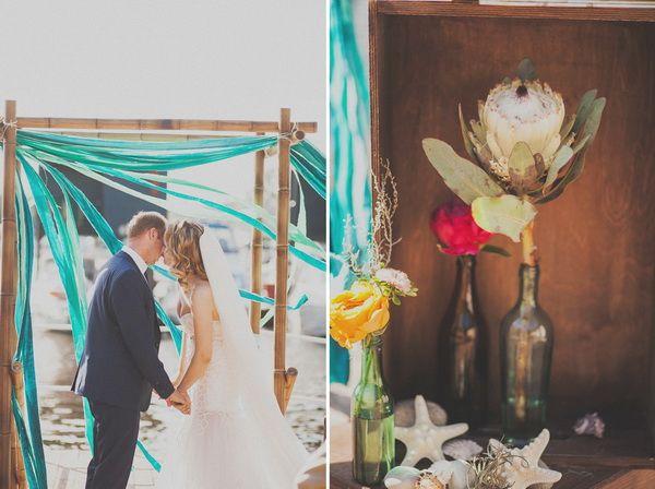 украшение свадьбы лентами  #wedding #decor #weddingideas #summer