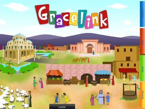 iPad Gracelink Felt Board App