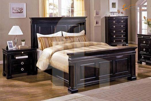 buy 5 piece bedroom set espresso online at discount price in rh pinterest com
