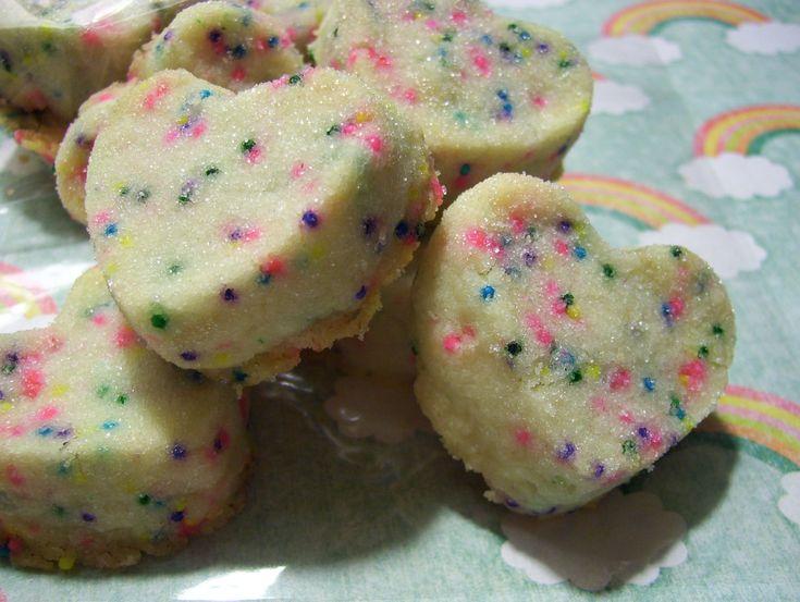 RAINBOW BrITES - THE BEST Shortbread Cookies - 16 cookies - Half Pound. $10.00, via Etsy.