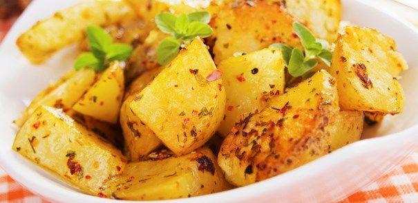 Zitronen-Backkartoffeln