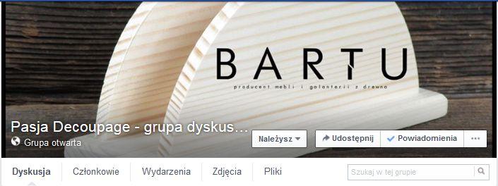 Specjalnie dla państwa stworzyliśmy grupę dyskusyjną meblebartu.pl Zapraszamy wszystkich chętnych, którzy chcą wyrazić swoją opinie na temat naszych produktów lub chcą nas wesprzeć nowymi pomysłami.  https://www.facebook.com/groups/477749662422489/