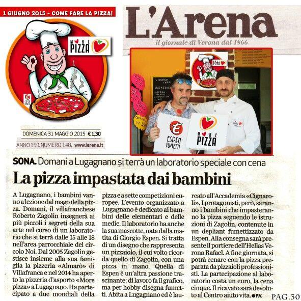 #pizza #verona #morepizza #espenfumetti #giorgioESPEN