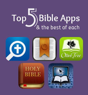 The best features of each Bible App in one tidy post!