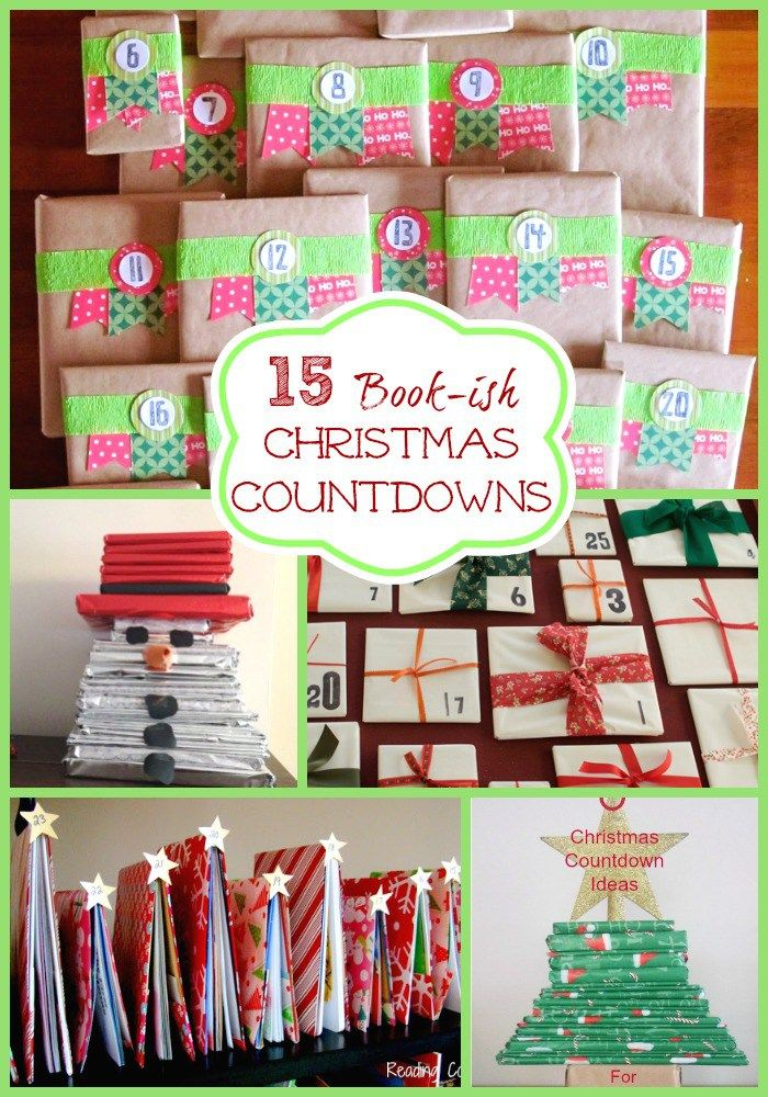 15 Book-ish Advent Calendar Ideas! If your little ones love advent calendars, you will really love these amazing DIY Advent Calendars using books!