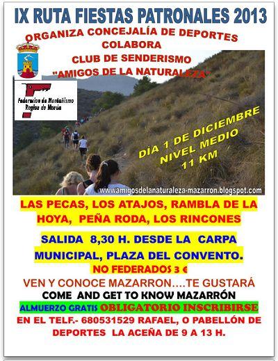 #IXrutafiestaspatronales #2013 #Mazarrón #regiondemurcia