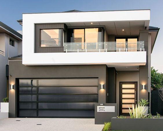 Fachadas de casas minimalistas 3 arquitectura casas for Fachadas exteriores de casas modernas