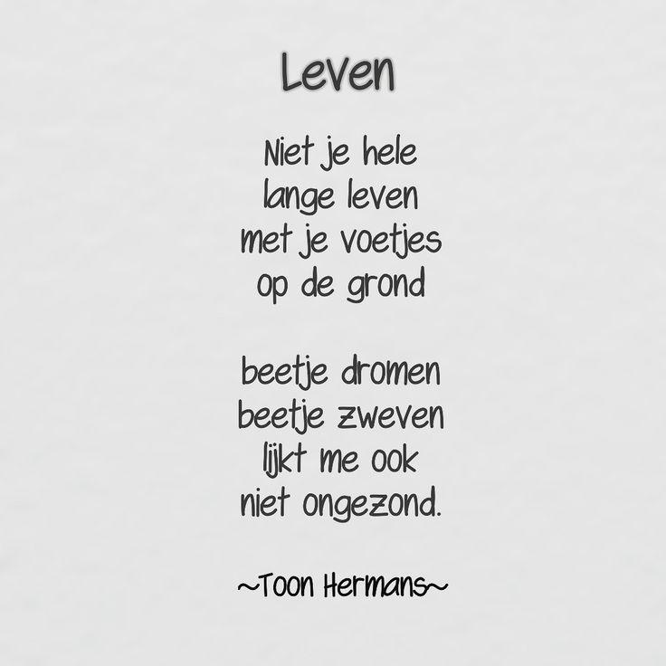Leven  #toonhermans #toon #hermans #leven #zweven #dromen