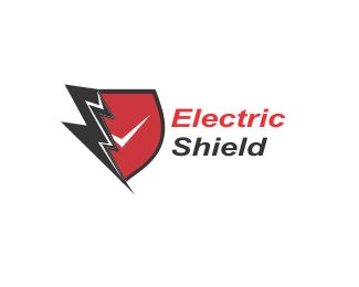 Electric Shield Logo design - logo is perfect for company electric field Price $250.00