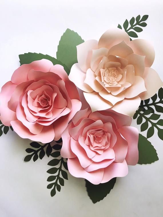 Complete Paper Flower Kits 3 Paper Flower Do It Yourself Kit