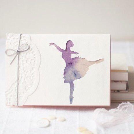 Балерины на открытках