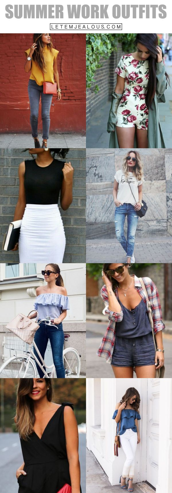 45 Charming Summer Work Outfits to be Fashionista in your Office