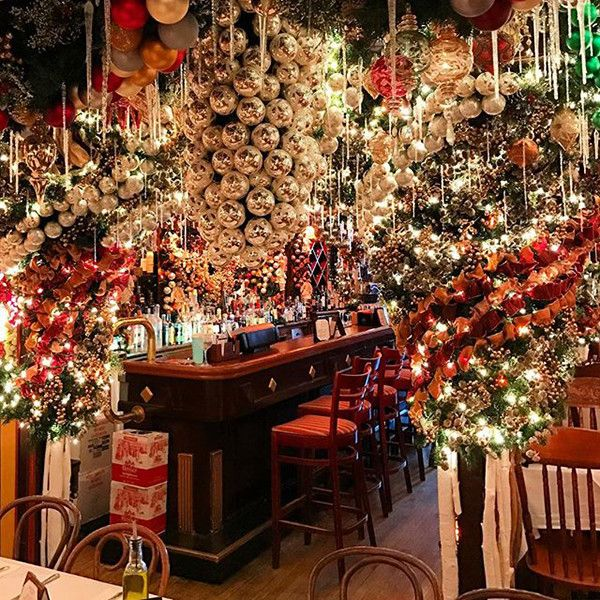 Rolf S German Restaurant In Nyc Nyc Christmas New York City Christmas New York Christmas