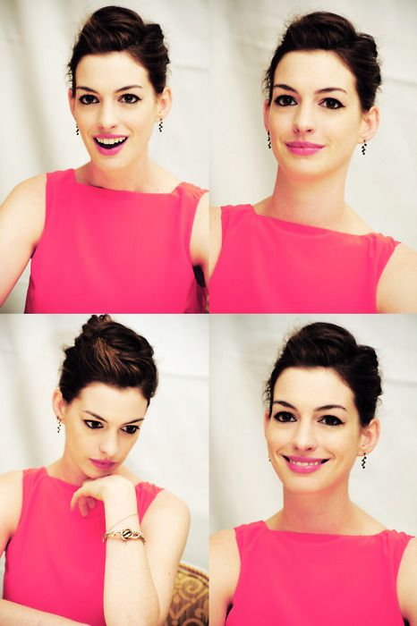 Anne Hathaway - why is she amazing AND gorgeous?? why world? Happy 32nd! (11/12/2014)