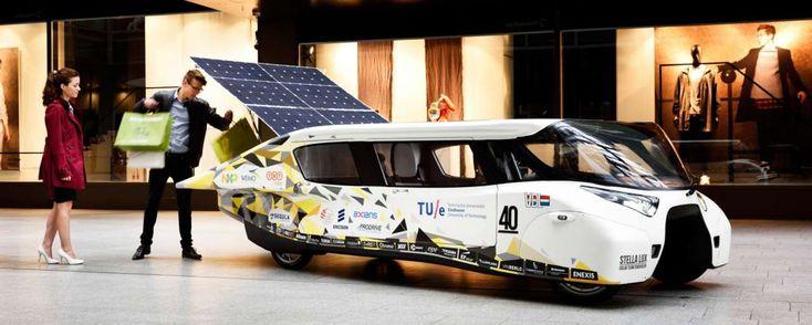 Het Solar Team Eindhoven gaat samenwerken met deskundigen van Eneco om een gezinsauto op zonne-energie op de markt te brengen.