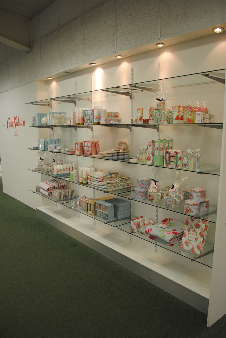 // visual merchandising // display // cath kidston // lifestyle // homewares // toiletries