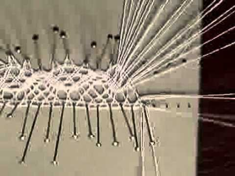 I love watching bobbin lace being made.