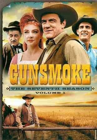 One of television's most popular westerns, GUNSMOKE, returns in this first volume of episodes from the program's seventh season, starring program mainstays James Arness (Marshal Matt Dillon), Milburn