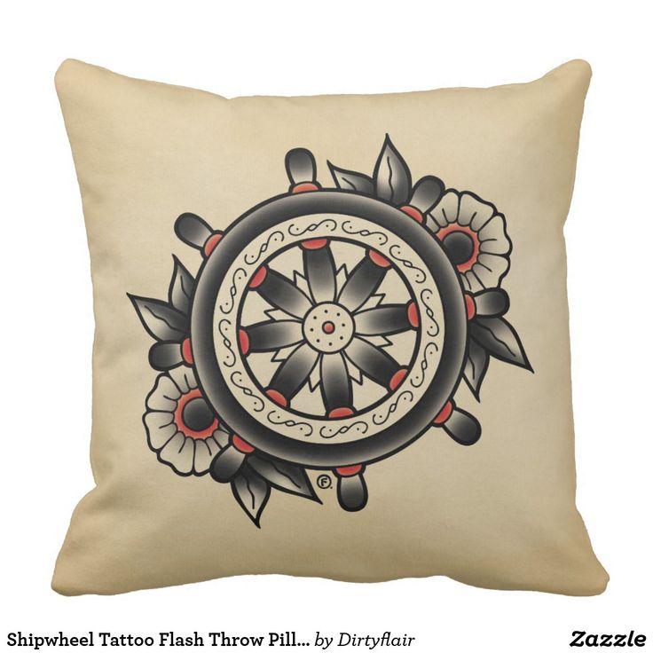 8 Best Ships Wheel Tattoos Images On Pinterest Ship Wheel Tattoo