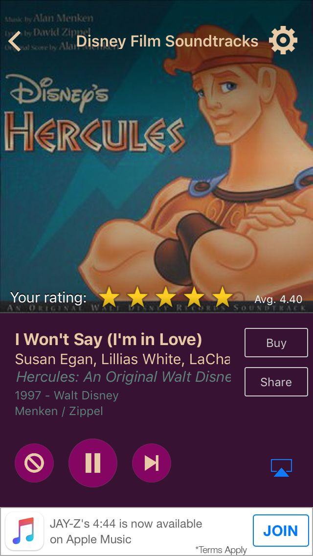 I Won't Say (I'm in Love) by Susan Egan, Lillias White, LaChanze, Roz Ryan, Cheryl Freeman, and Vanéese Y. Thomas on AccuRadio