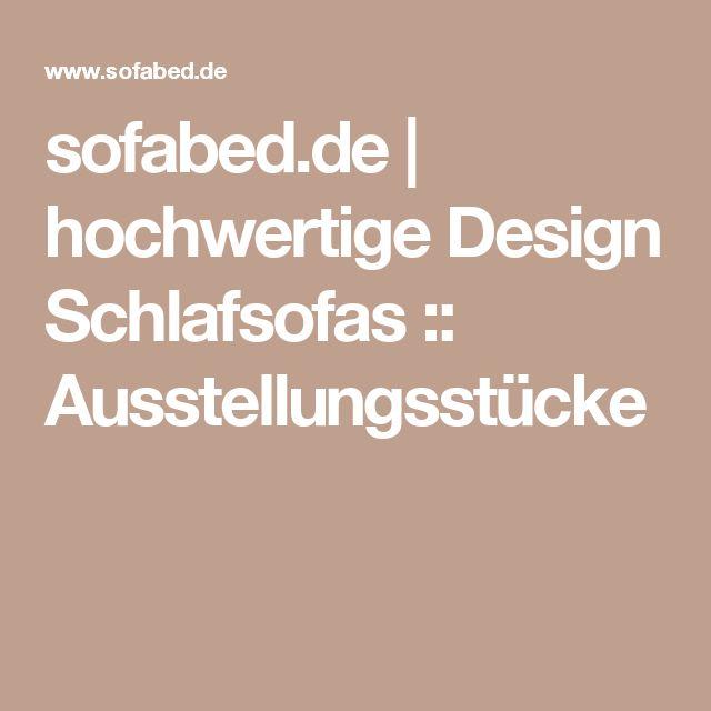 Sofabed De Hochwertige Design Schlafsofas Ausstellungsstucke
