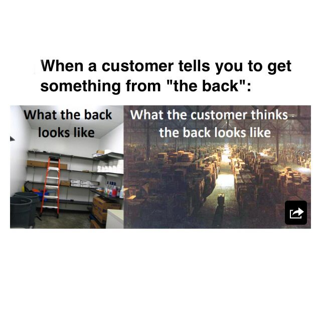 Working retail probs