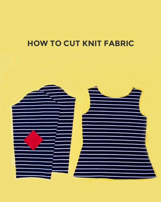 How to Cut Knit Fabric